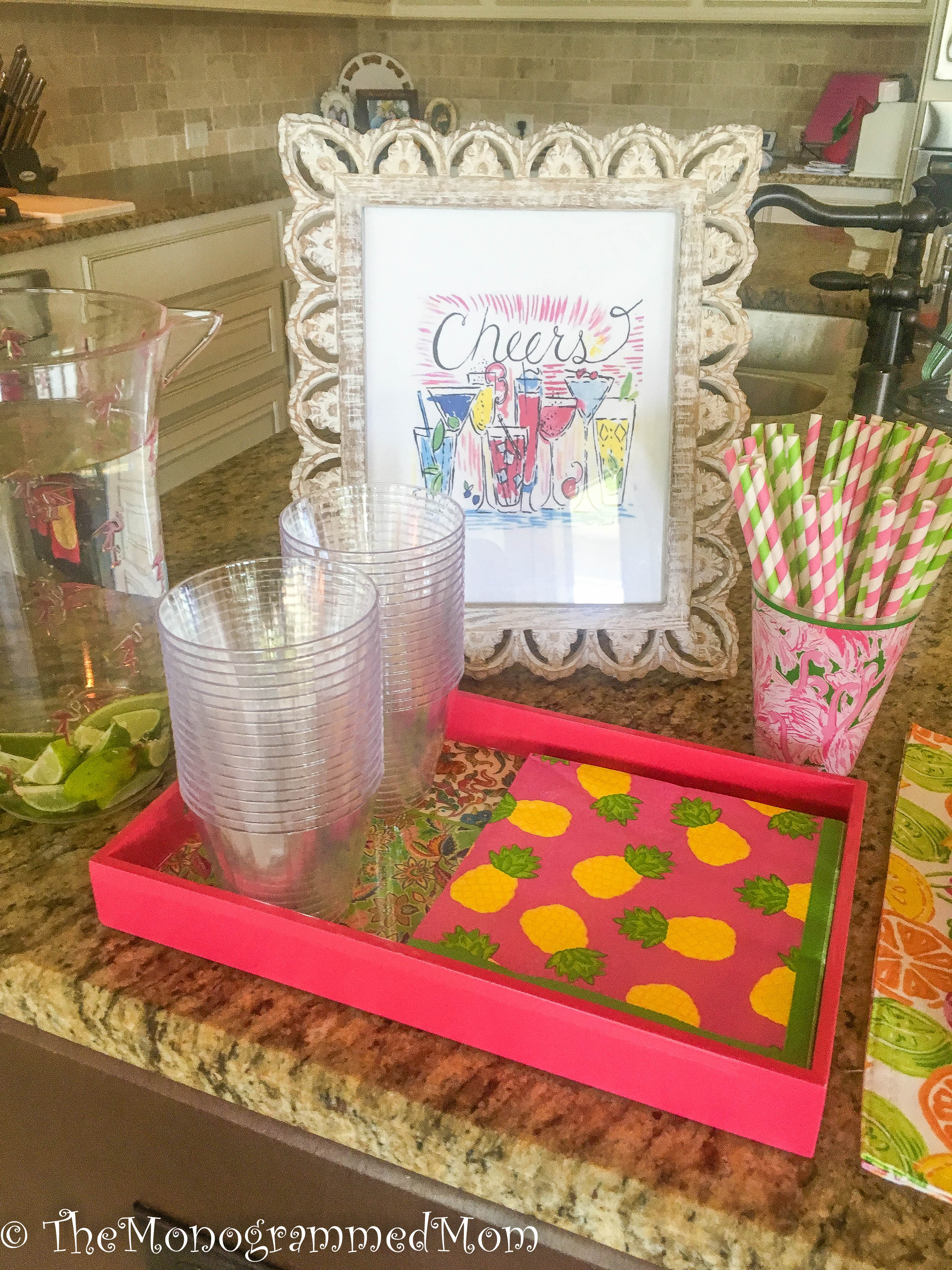 A Lilly Pulitzer Inspired Bridal Shower – The Monogrammed Mom