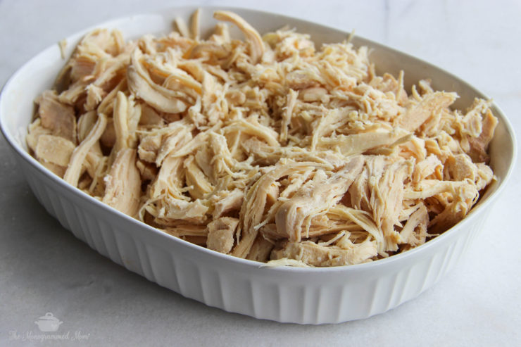 Shredded Chicken {Whole30} {Paleo}