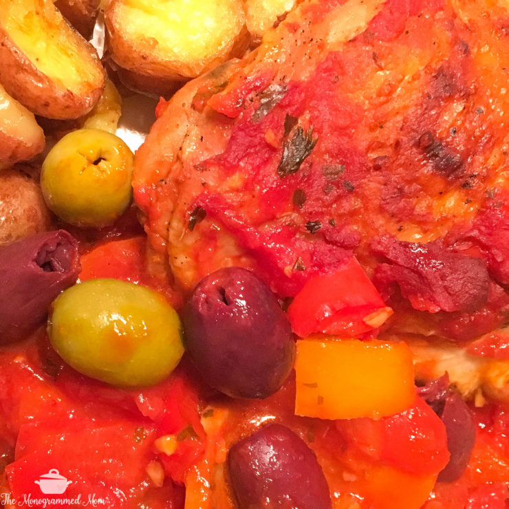 Chicken Cacciatore {Whole30} {Paleo}