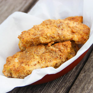 """Fried"" Chicken Tenders {Whole30} {Paleo}"