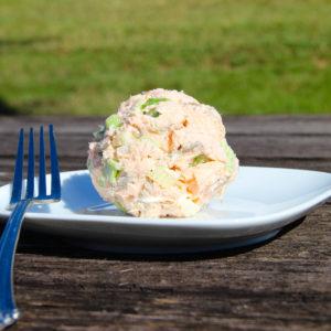 Salmon Salad Ball {Whole30}
