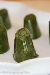 Spinach Smoothie Cubes {Whole30} {Paleo}