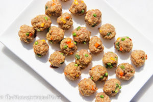 Toddler Turkey Meatballs {Gluten-free}