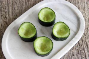 Tuna Cucumber Cups {Whole30} {Paleo}