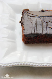 The Monogrammed Mom: Chocolate Zucchini Cake
